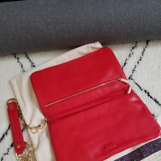 Tory Burch Red Clutch Image 6