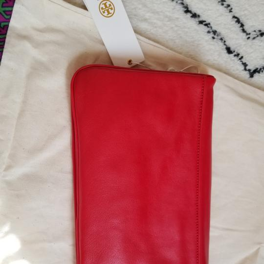 Tory Burch Red Clutch Image 7