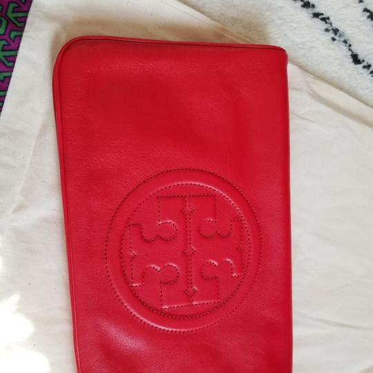 Tory Burch Red Clutch Image 8