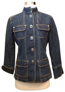 Chico's Dark denim Blazer