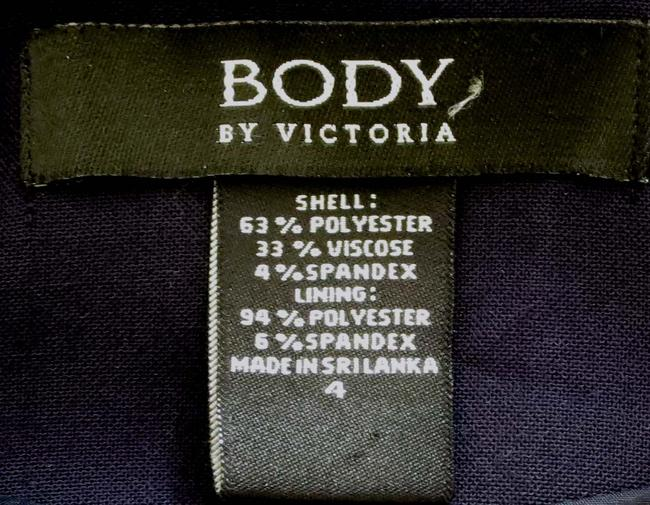 Victoria's Secret Fitted Flap Pockets Fully Lined Business Navy Blazer Image 6