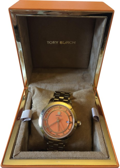 Item - Gold Tone Orange Trb1006 with Face Watch