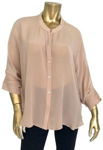 Poetry Button Down Shirt FRENCH NUDE