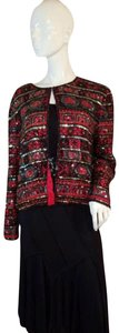 Papell Boutique Red Blazer
