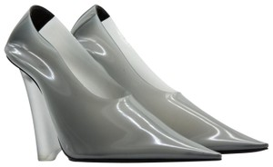 YEEZY Pointed Toe Wedge Pvc Gray Pumps