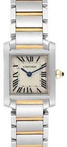 Cartier Cartier Tank Francaise 20mm Steel Yellow Gold Ladies Watch W51007Q4