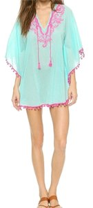 OndadeMar OndadeMar Women's Bengal Embroidered Cover Up Tunic Size M NWT