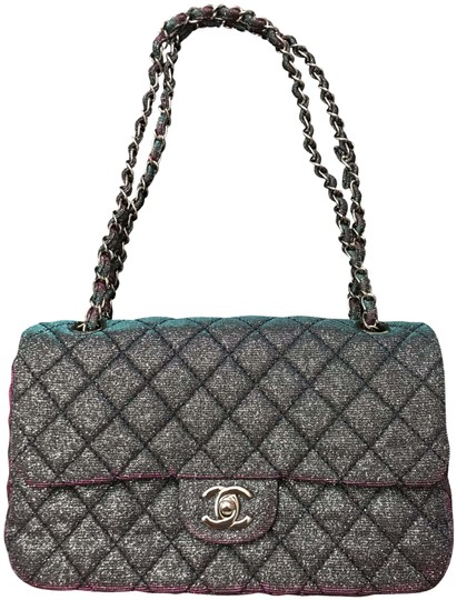 Preload https://img-static.tradesy.com/item/26304182/chanel-iridescent-sparkle-and-glitter-handbag-rare-0-1-540-540.jpg