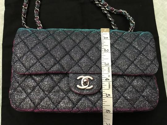 Chanel Chanel Iridescent Sparkle and Glitter Handbag RARE Image 10