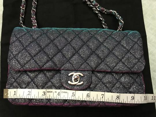 Chanel Chanel Iridescent Sparkle and Glitter Handbag RARE Image 11