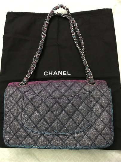 Chanel Chanel Iridescent Sparkle and Glitter Handbag RARE Image 4