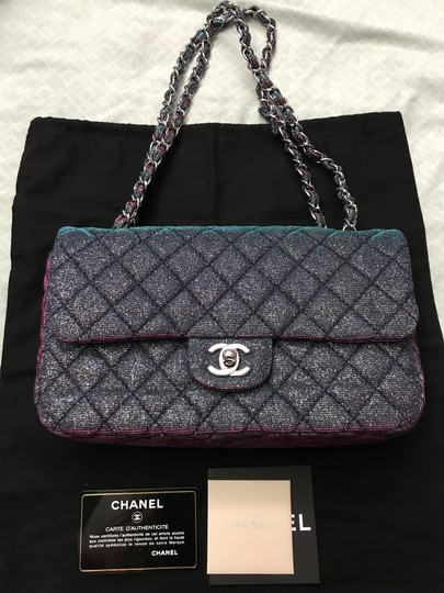 Chanel Chanel Iridescent Sparkle and Glitter Handbag RARE Image 5