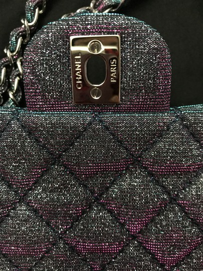 Chanel Chanel Iridescent Sparkle and Glitter Handbag RARE Image 6