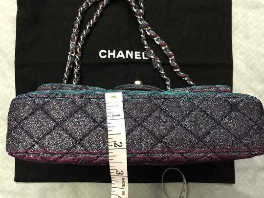 Chanel Chanel Iridescent Sparkle and Glitter Handbag RARE Image 8