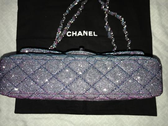 Chanel Chanel Iridescent Sparkle and Glitter Handbag RARE Image 9