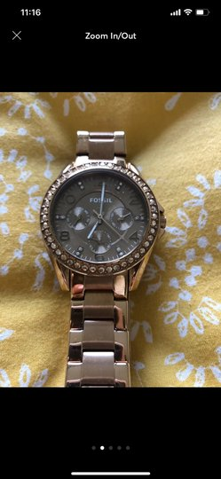 Fossil women's fossil watch Image 1