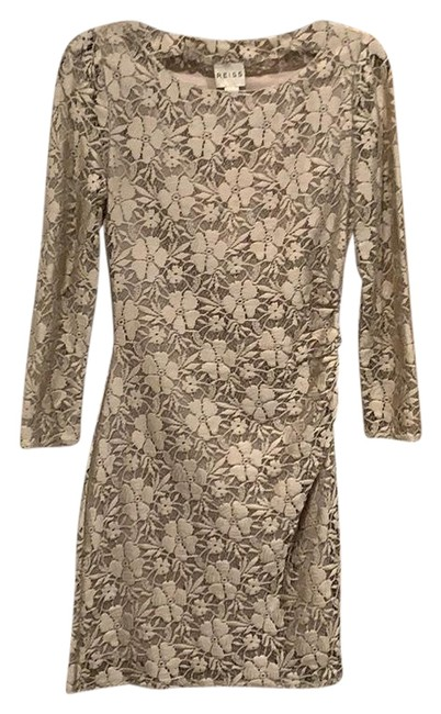 Preload https://img-static.tradesy.com/item/26304242/reiss-pewter-stretch-lace-silk-lined-short-formal-dress-size-2-xs-0-1-650-650.jpg