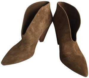 Vince Camuto Tan/ Brown Suede Boots