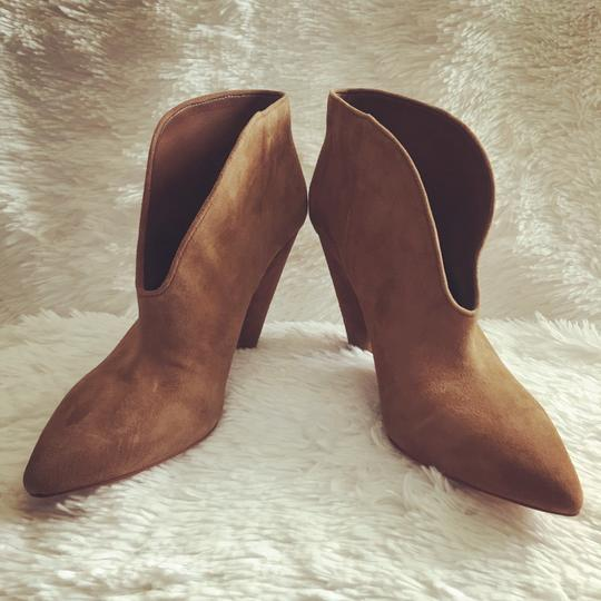 Vince Camuto Tan/ Brown Suede Boots Image 1