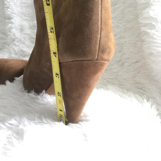 Vince Camuto Tan/ Brown Suede Boots Image 2