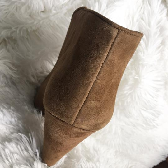 Vince Camuto Tan/ Brown Suede Boots Image 4