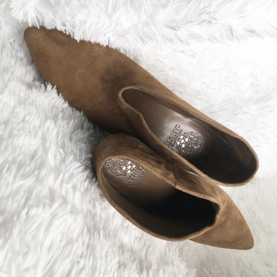 Vince Camuto Tan/ Brown Suede Boots Image 5