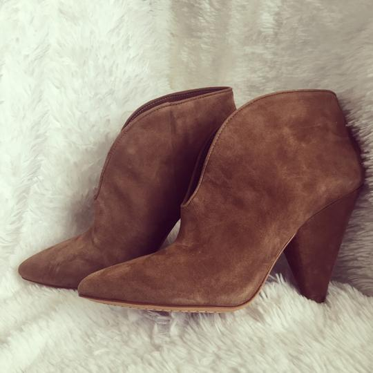 Vince Camuto Tan/ Brown Suede Boots Image 6