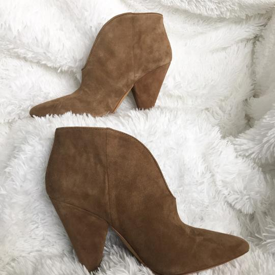 Vince Camuto Tan/ Brown Suede Boots Image 8