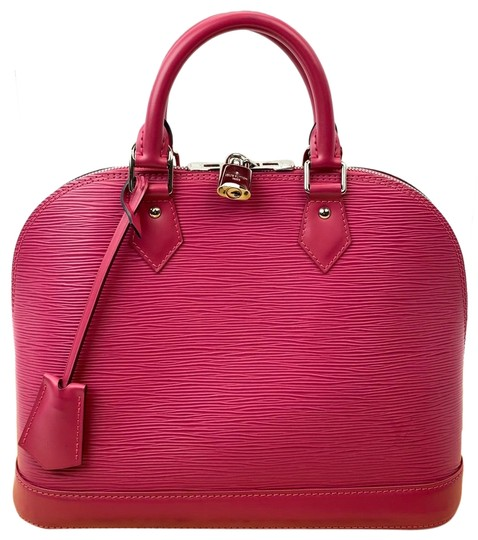 Preload https://img-static.tradesy.com/item/26304290/louis-vuitton-alma-pm-hot-pink-epi-leather-satchel-0-1-540-540.jpg