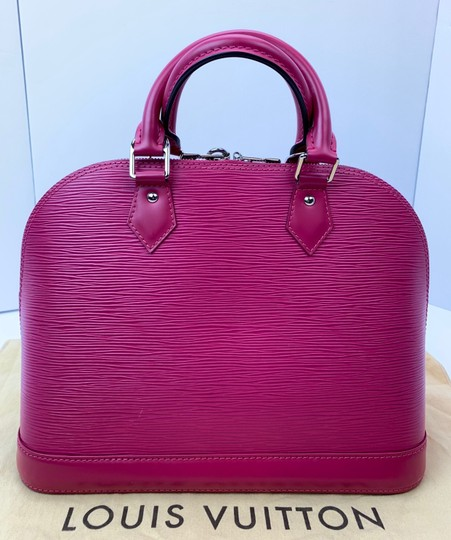 Louis Vuitton Satchel in Hot Pink Image 4