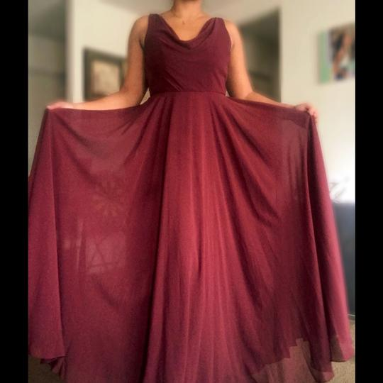 Preload https://img-static.tradesy.com/item/26304325/jenny-yoo-burgundy-chiffon-formal-bridesmaidmob-dress-size-14-l-0-0-540-540.jpg