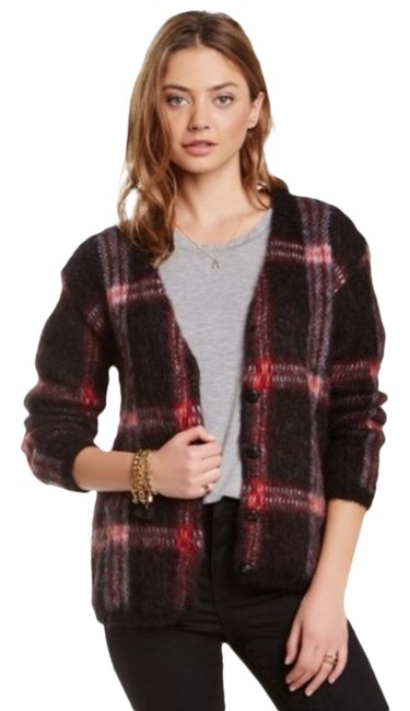 Preload https://img-static.tradesy.com/item/26304336/joa-joa-los-angeles-red-plaid-wool-button-cardigan-med-sweater-0-1-650-650.jpg