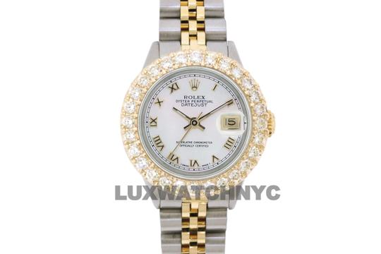 ROLEX 2.5ct Ladies 26mm Datejust Gold & Stainless with Appraisal & BOX Image 1