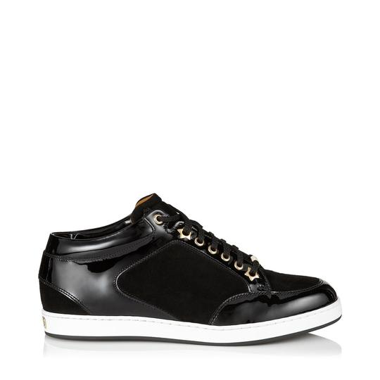 Preload https://img-static.tradesy.com/item/26304427/jimmy-choo-black-miami-suede-and-patent-trainers-sneakers-size-eu-37-approx-us-7-regular-m-b-0-1-540-540.jpg