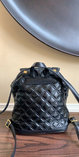 MCM Quilted Leather Studded Backpack Image 2