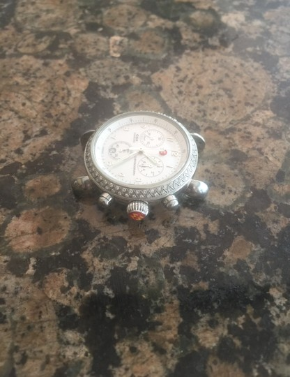 Michele CSX Stainless Steel & Mother of Pearl Image 1