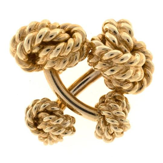 Preload https://img-static.tradesy.com/item/26304472/tiffany-and-co-yellow-gold-vintage-1940s-co-14k-heavy-double-knot-cuff-links-curve-0-0-540-540.jpg
