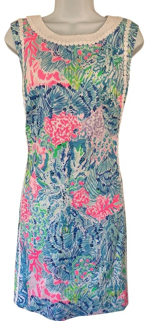 Preload https://img-static.tradesy.com/item/26304500/lilly-pulitzer-mile-stretch-shift-mid-length-short-casual-dress-size-12-l-0-1-650-650.jpg