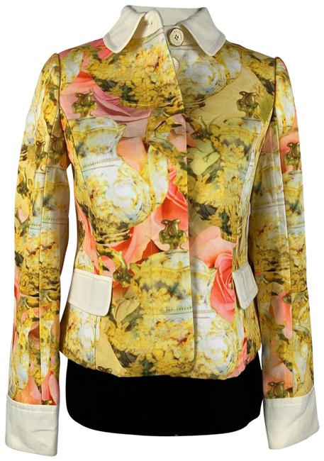 Preload https://img-static.tradesy.com/item/26304513/ted-baker-yellow-pink-ivory-teapot-printed-blazer-olivia-shell-coat-poly-lined-jacket-size-2-xs-0-1-650-650.jpg