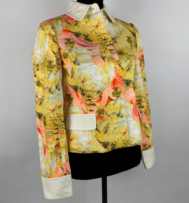 Ted Baker Yellow Pink Ivory Jacket Image 1