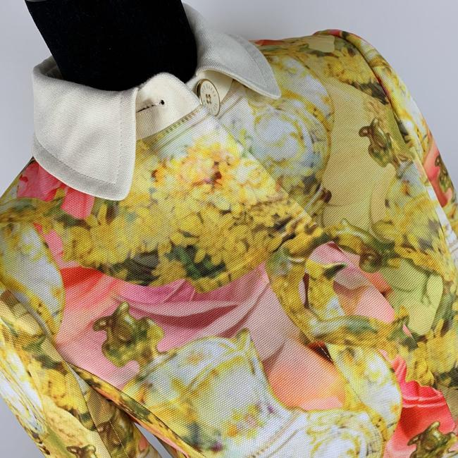 Ted Baker Yellow Pink Ivory Jacket Image 2