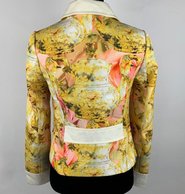 Ted Baker Yellow Pink Ivory Jacket Image 4