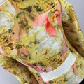 Ted Baker Yellow Pink Ivory Jacket Image 5