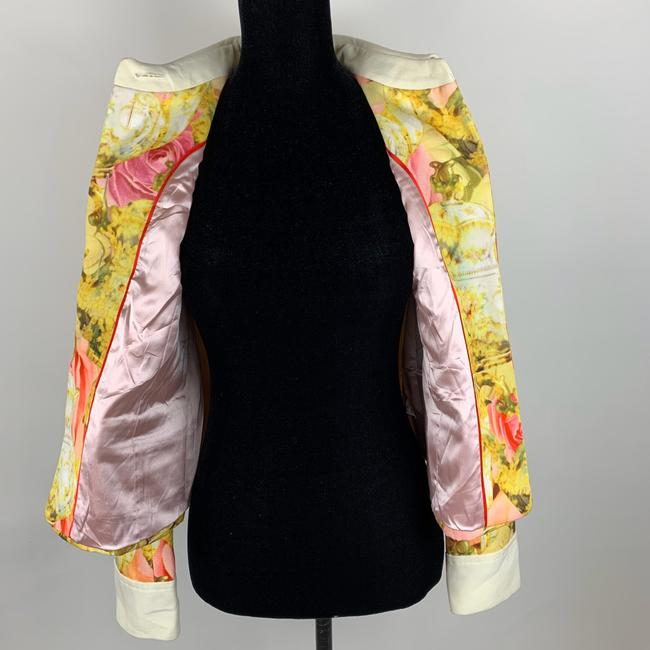 Ted Baker Yellow Pink Ivory Jacket Image 7