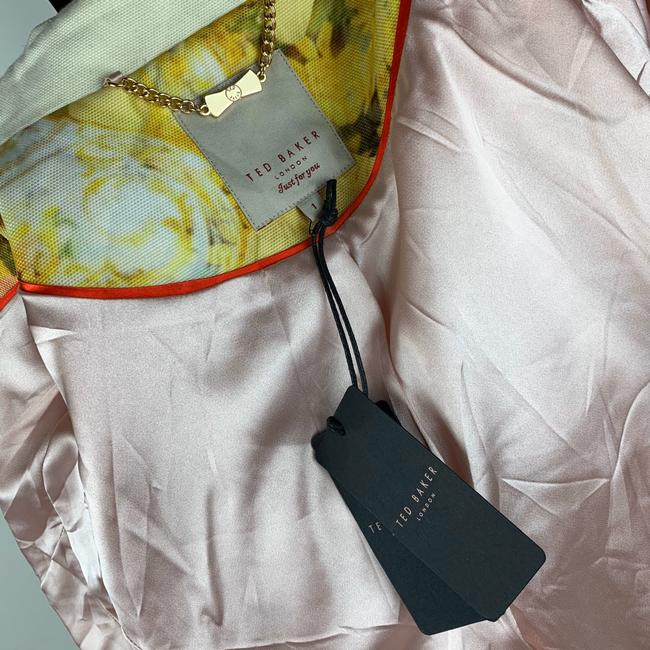 Ted Baker Yellow Pink Ivory Jacket Image 8