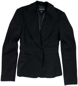 Tom Ford Structured Jacket Runway BLACK Blazer