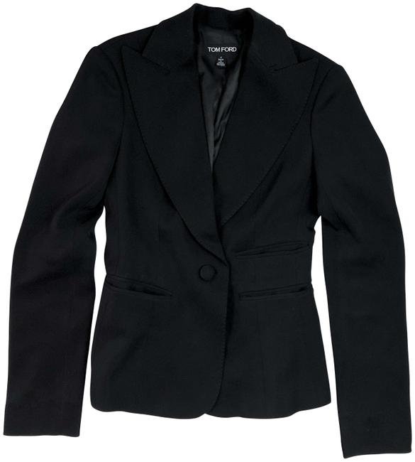 Preload https://img-static.tradesy.com/item/26304551/tom-ford-black-notch-lapel-structured-jacket-blazer-size-4-s-0-1-650-650.jpg