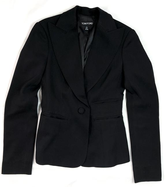 Tom Ford Structured Jacket Runway BLACK Blazer Image 2