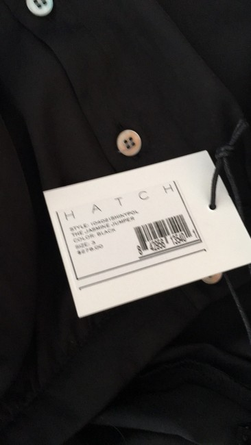 Hatch Hatch black jumpsuit with side pockets. NWT size L Image 4