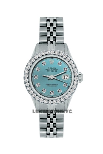ROLEX 1.3ct Ladies Datejust S/S with Box&appraisal Image 9